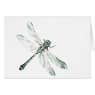 Dragonfly map card