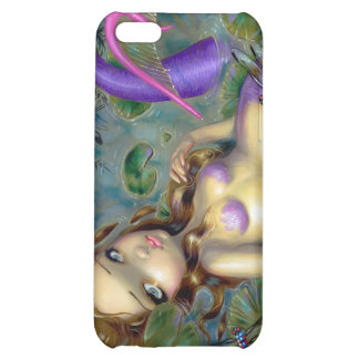 """""""Dragonfly Mermaid"""" iPad Case Cover For iPhone 5C"""