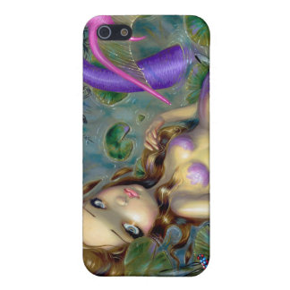 """Dragonfly Mermaid"" iPad Case iPhone 5 Case"