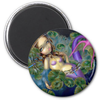 """Dragonfly Mermaid"" Magnet"