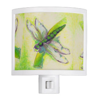Dragonfly Night Light by Sonya Ambrose