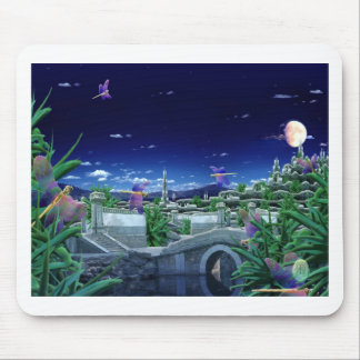 Dragonfly Night Mouse Pad