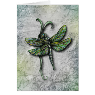 Dragonfly Notecard or Greeting Card
