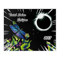 Dragonfly Observing the Total Solar Eclipse 2017