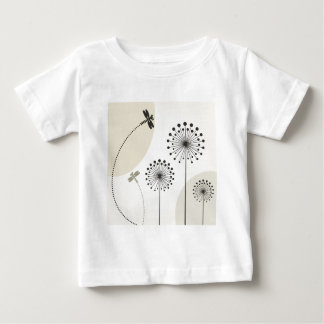 Dragonfly on a flower baby T-Shirt