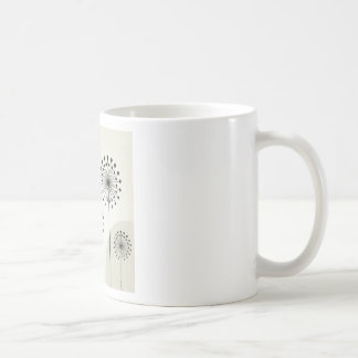 Dragonfly on a flower coffee mug
