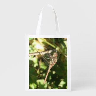 Dragonfly on a Twig Reusable Bag Reusable Grocery Bags