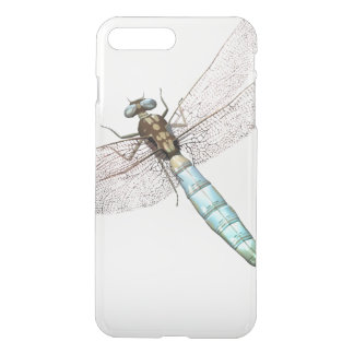 Dragonfly on White iPhone 8 Plus/7 Plus Case