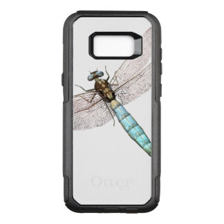 Dragonfly on White OtterBox Commuter Samsung Galaxy S8+ Case