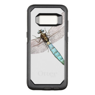 Dragonfly on White OtterBox Commuter Samsung Galaxy S8 Case