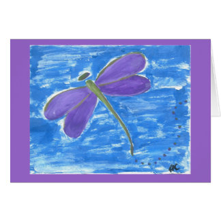 Dragonfly Original Art Card