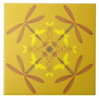 Dragonfly Ornate Highlight Tile by Oldifluff