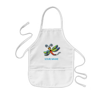 Dragonfly Paint Smock! Kids Apron