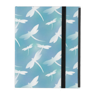 Dragonfly pattern iPad cover