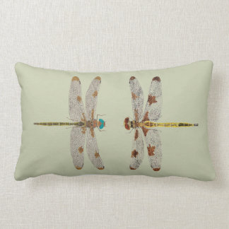 Dragonfly Pillows Dsigns on both sides