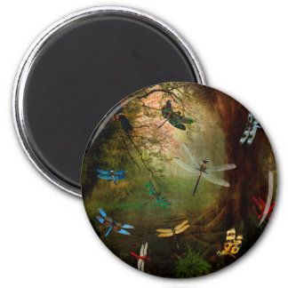 Dragonfly Playground Magnet