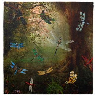 Dragonfly Playground Napkin