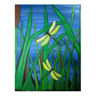Dragonfly Pond Postcard