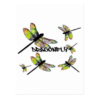 DRAGONFLY POST CARD