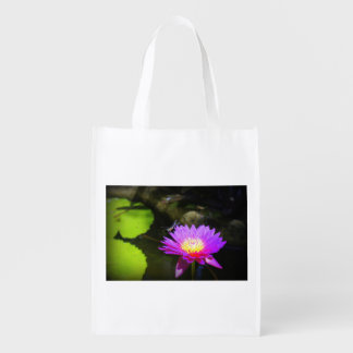 Dragonfly Resting Reusable Grocery Bag