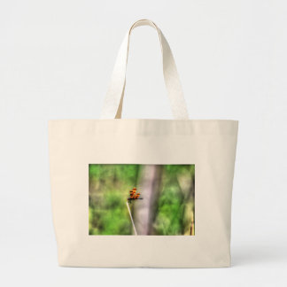 DRAGONFLY RURAL QUEENSLAND AUSTRALIA ART EFFECTS LARGE TOTE BAG