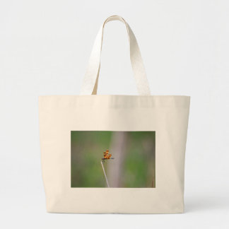 DRAGONFLY RURAL QUEENSLAND AUSTRALIA LARGE TOTE BAG