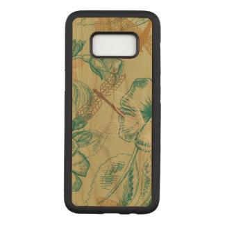 Dragonfly Samsung Galaxy S8 Slim Cherry Wood Case