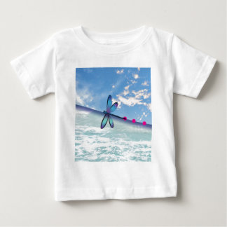 dragonfly-sea-sky baby T-Shirt