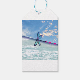 dragonfly-sea-sky pack of gift tags