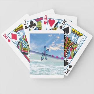 dragonfly-sea-sky poker deck