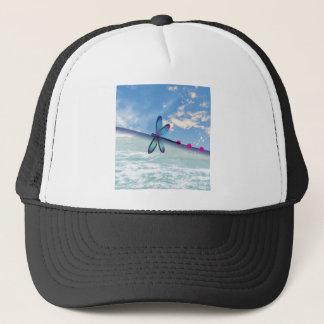 dragonfly-sea-sky trucker hat