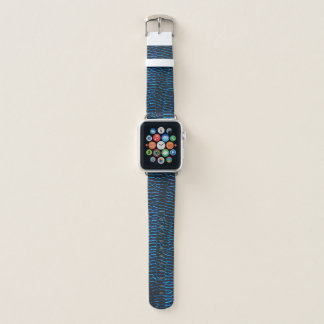 Dragonfly shiny vibrant blue wings apple watch band
