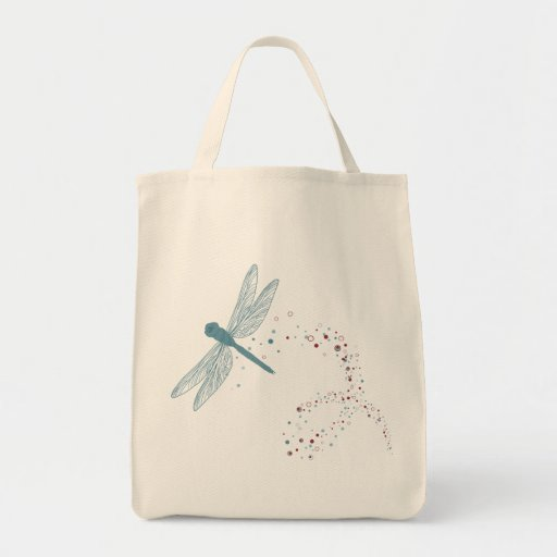 dragonfly shopping bag