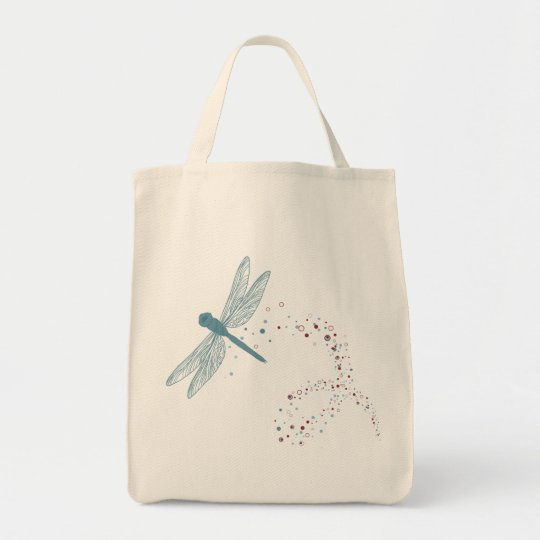 dragonfly shopping bag