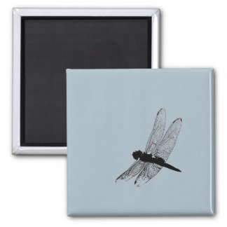 Dragonfly Silhouette Magnet 3