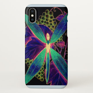 dragonfly style iPhone x case