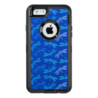 Dragonfly Summer Blues Nature Lover OtterBox Defender iPhone Case