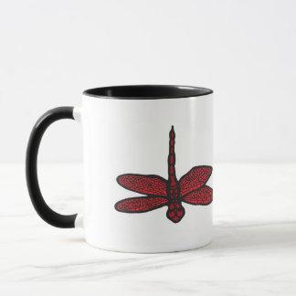 Dragonfly Sympathy/Remembrance Mug