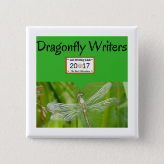 Dragonfly Team pins! 2 Inch Square Button