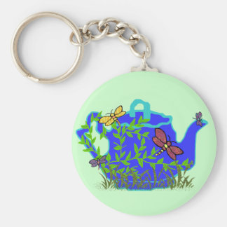 Dragonfly Teapot key chain