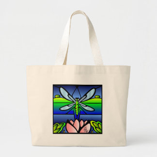 Dragonfly Tiffany Style Tote bag