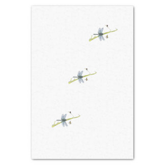 dragonfly tissue paper