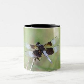 Dragonfly Two-Tone Coffee Mug