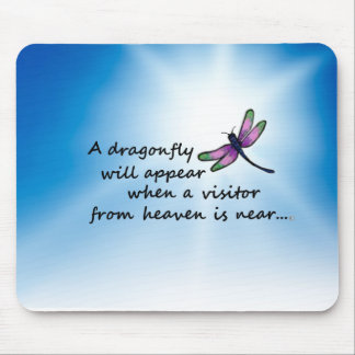 Dragonfly, Visitor from Heaven Mouse Pad