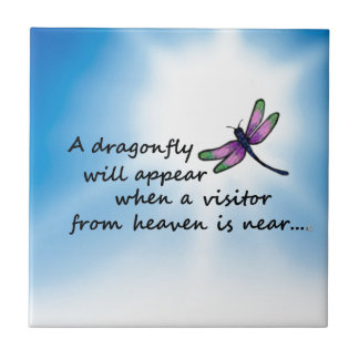 Dragonfly, Visitor from Heaven Tile