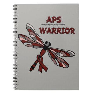 Dragonfly/Warrior...APS Spiral Notebook