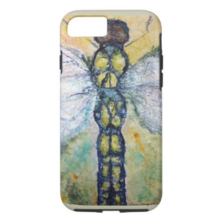 Dragonfly Watercolor Art Phone Case