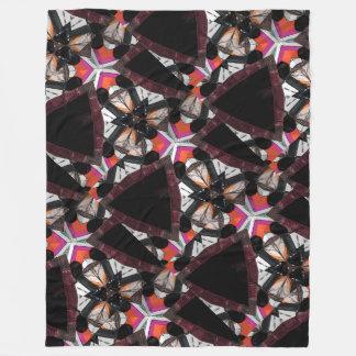 Dragonfly Window, Custom Fleece Blanket, Large