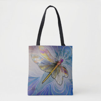 Dragonfly Woman tote