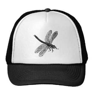 Dragonfly Woodcut Trucker Hat